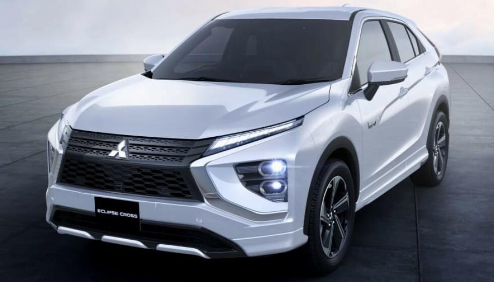 FACELIFT: Mitsubishi er rå på facelifter. Outlander hadde til sammen fire små og store oppgraderinger. Dette er den andre for Eclipse Sport. Foto: Mitsubishi
