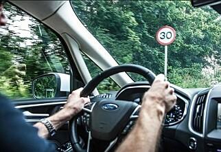 Det blir fartssperre i alle biler