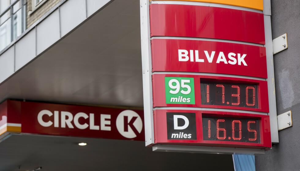 DRIVSTOFFPRISER: Konkurransetilsynet har etterforsket YX og Circle K etter mistanke om samarbeid om fastsettelse av priser på drivstoff. Foto: Vidar Ruud/NTB