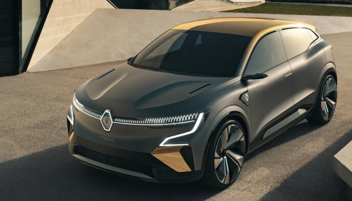 VIKTIG: Renault har vært store lenge i Norge med den stadig forbedrede Zoe, men eMegane når et langt større publikum. Senere kommer det flere biler på samme plattform. Foto: Renault