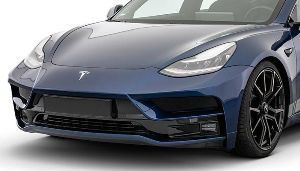 SINT: Model 3 har fått en kraftig facelift fra Tyske Startech. Foto: Startech