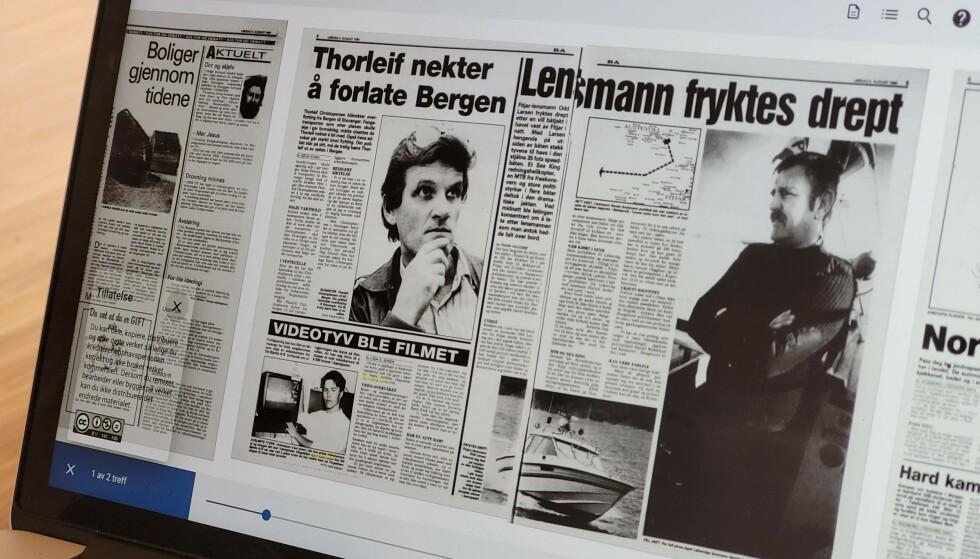 TIDLIG KJENDIS: Allerede som 18-åring var Dinsides redaktør i Bergens Arbeiderblad. Foto: Pål Joakim Pollen