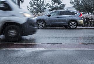 Vegtrafikksentralen ber bilister være riktig skodd