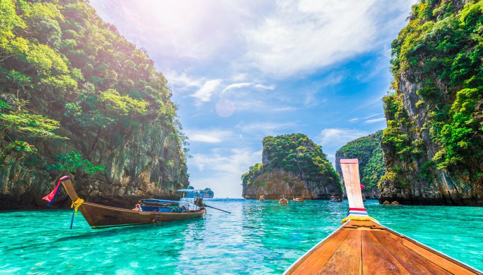 THAILAND ÅPNER: Thailand har vært nedstengt siden pandemien startet. Nå åpner de for turister, i første omgang fra Kina - men turistministeren sier også turister fra Europa og USA har lyst til å komme. Foto: NTB scanpix