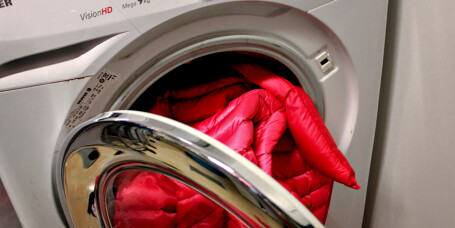 Hvordan vaske dunjakke?