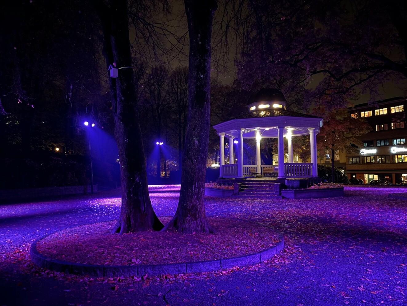 Nattbilde tatt med iPhone 12 Pro (komprimeres av publiseringsverktøyet vårt, så se heller Google Foto-albumet under). Foto: Pål Joakim Pollen