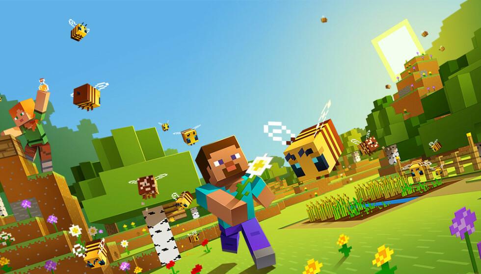 MINECRAFT: Fra neste år er du nødt til å ha en Microsoft-konto/Xbox-profil for å spille det populære spillet. Foto: Xbox Game Studios