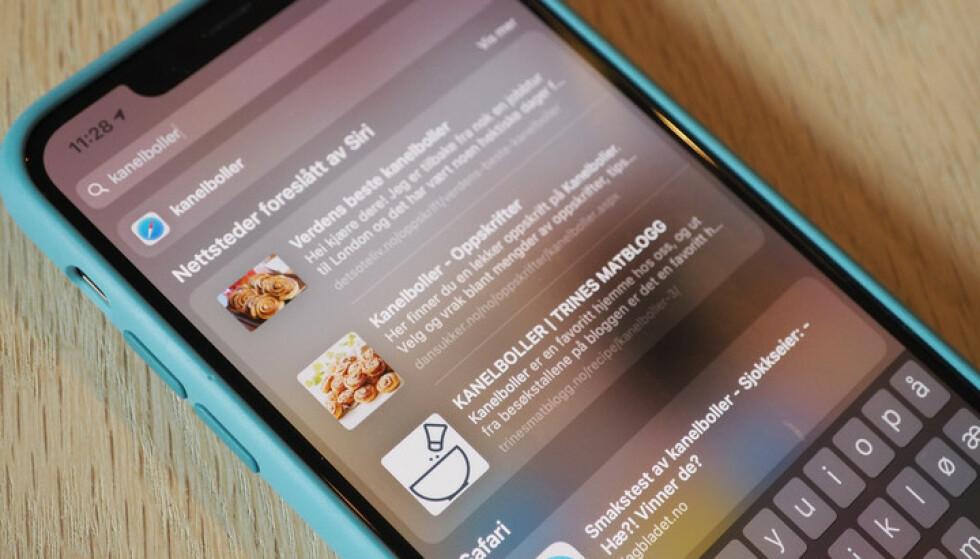 APPLE-SØK: Apple kan komme med en konkurrent til Google, hevder Financial Times. Foto: Kirsti Østvang