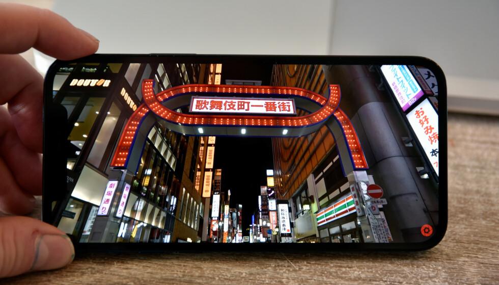 Video og annet innhold ser svært bra ut på iPhone 12-skjermene. Foto: Pål Joakim Pollen