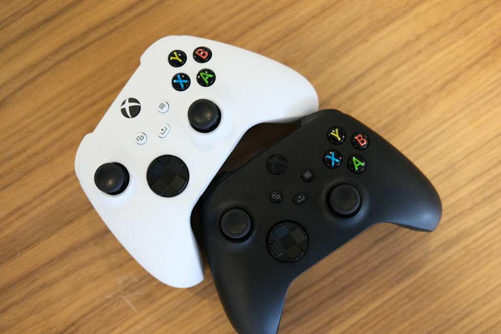 De nye Xboxs-kontrollene.