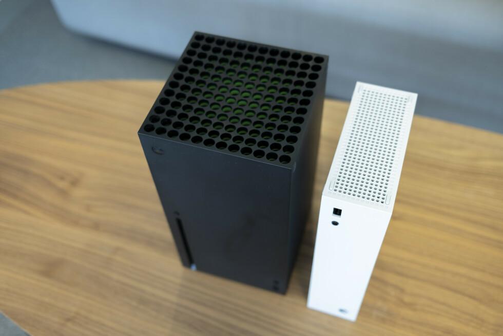 Xbox Series X og Series S.