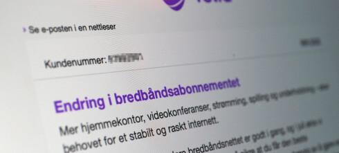 Telia skrur opp bredbåndsprisene