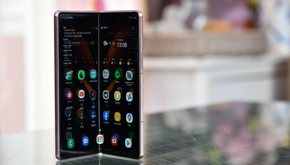 NUMMER ÉN: Samsung har pøst på med nye mobiler i år. Det har gitt resultater. Foto: Pål Joakim Pollen
