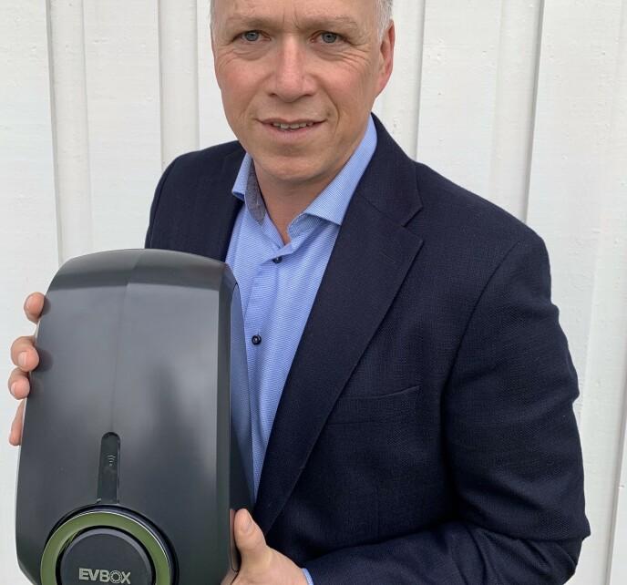 IKKE OVERRASKET: Geir Bjørnstad, Regional Director Nordic, EVBox.