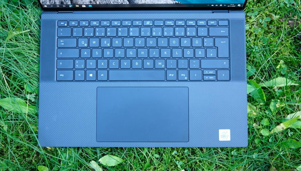 Dell XPS 15 har en av de råeste styreflatene vi har brukt. Foto: Martin Kynningsrud Størbu