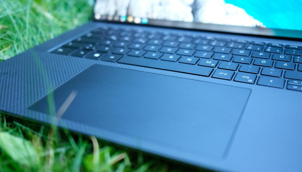 Kun MacBook Pro kan matche denne styreflaten. Foto: Martin Kynningsrud Størbu