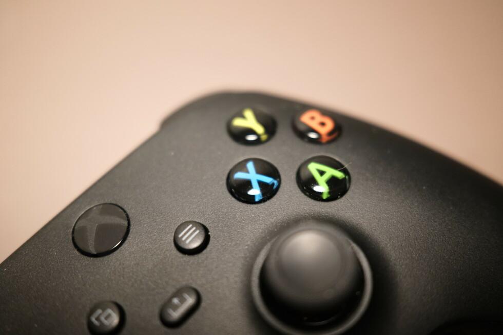Xbox Series-kontrollen. Foto: Martin Kynningsrud Størbu