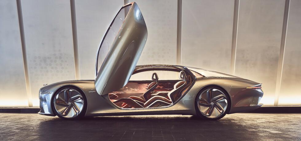 NYE TIDER: Bentley skal være rollemodellen for miljøvennlig ultraluksus. Og planene er ambisiøse, men seriøse. Det skal skje innen 10 år. Foto: Bentley Motors