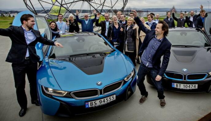 BMW i8: Folkets favoritt for 2015. Foto: Anita Arntzen