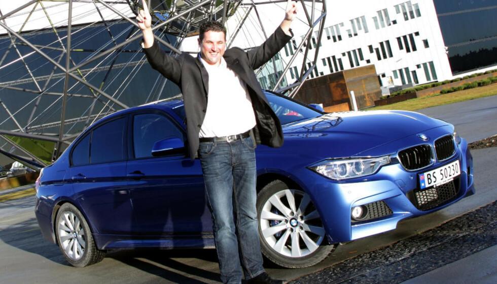 BMW 3-SERIE: Folkets favoritt for 2013. Foto: Egil Nordlien