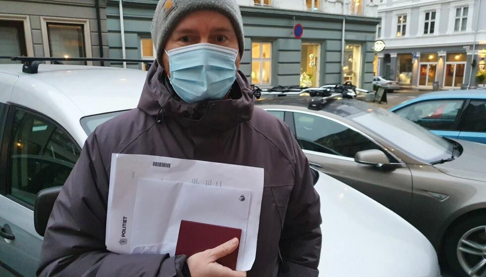 PÅBUDT: Denne uka innfører Skatteetaten påbud om munnbind for alle som besøker deres kontorer. Foto: Skatteetaten