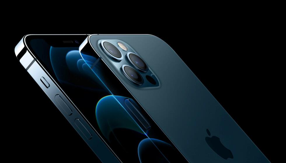 DYR: Du må ut med nesten 18.000 kroner for å kjøpe den aller gjeveste varianten av iPhone 12 Pro Max i Norge. Foto: Apple