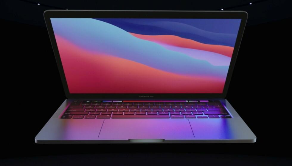 Nye 13-tommer MacBook Pro har den beste batteritiden blant Apples bærbare. Foto: Apple