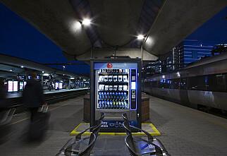 Nye «corona-automater» på togstasjonene