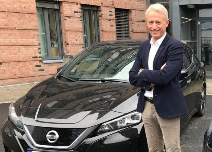BILLIG ELBIL: - Å kjøre elektrisk bil i Norge er betydelig billigere enn bensin og diesel, konkluderer markedsdirektør Marius Paus i LeasePlan Norge. Foto: LeasePlan
