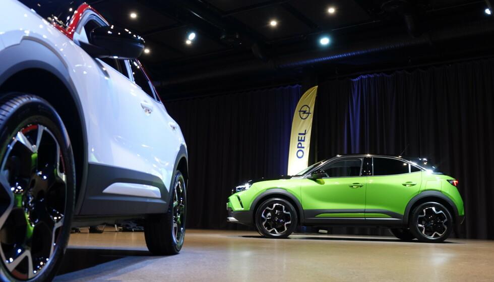 UTSOLGT: Opel hevder at hele 2021-produksjonen av deres flunkende nye elbil, SUV-en Mokka-e, er utsolgt - tre måneder før den er på markedet. Foto: Fred Magne Skillebæk