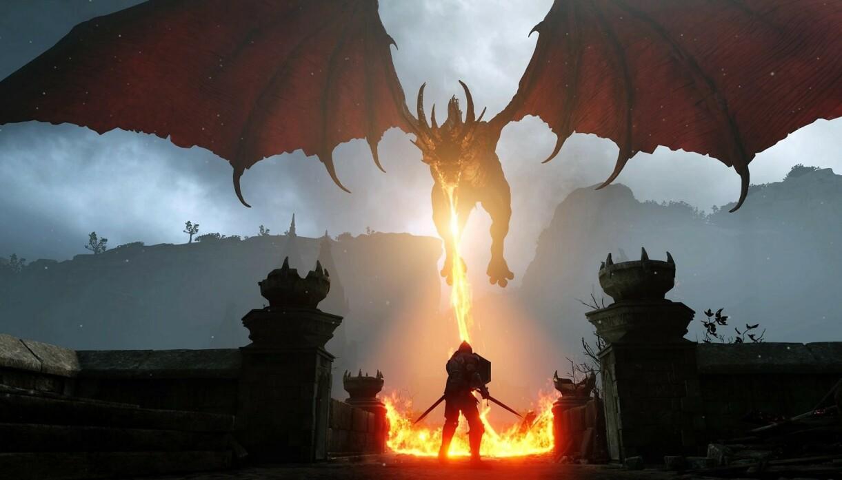 SPEKTAKULÆRT: Du må ikke ha 4K TV for å spille PlayStation 5, men det hjelper betraktelig på grafikken. Her et sjermbilde fra Demon's Souls, en av lanseringstitlene.