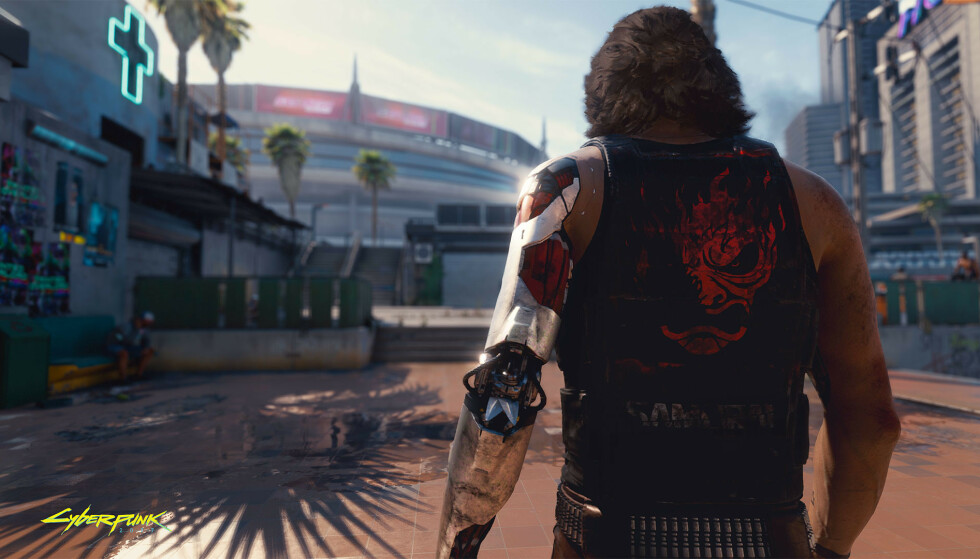 CYBERPUNK 2077: Skuespilleren Keanu Reeves har en av rollene i det kommende spillet. Foto: CD Projekt Red