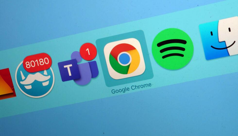 BEDRE BATTERI: I den siste oppdateringen av Chrome (versjon 87) lover Google over en time mer batteritid på bærbare PC-er. Foto: Pål Joakim Pollen