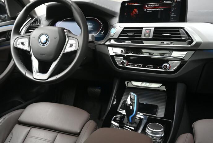 SOM FØR: De som kjører BMW i dag, må lete etter forskjellene. Foto: Rune M. Nesheim
