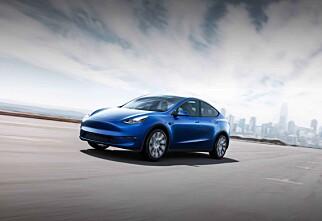 Model Y sørger for bunnplassering for Tesla