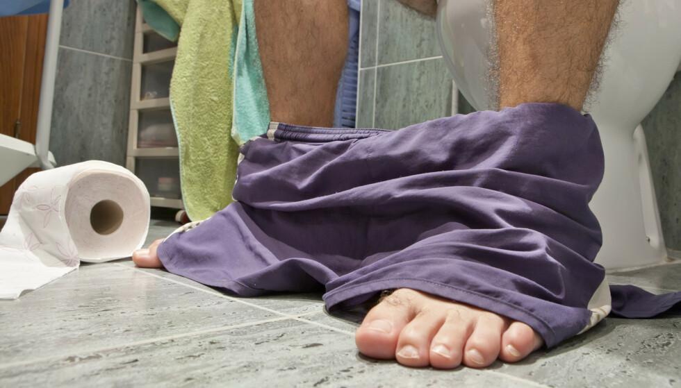 IKKE PAPIR: En svensk kommune ønsker nå at dopapiret ikke lenger kastes i toalettet. Foto: Shutterstock / NTB Scanpix