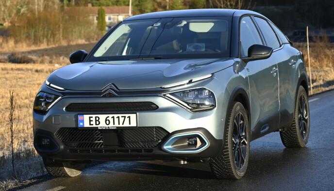 SKILLER SEG UT: Du skal aldri være helt likegyldig til en Citroën. Foto: Rune M. Nesheim