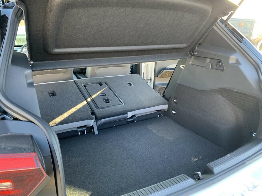 X: Vi vet ikke hvor stort det totale bagasjerommet er. Foto: Øystein B. Fossum
