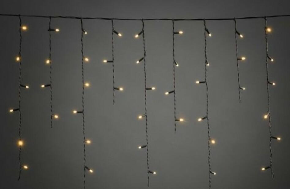 Istappslynger lyser effektivt opp slik at du får det lille ekstra lyset rundt huset i denne mørke tiden.