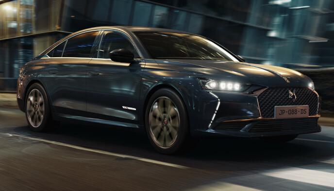 DS 9: Denne sedanen kommer til Norge i løpet av 2021. Foto: DS Automobiles.