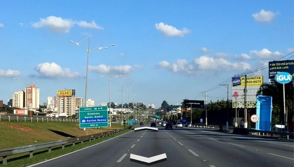 STREET VIEW: Eksempel på brukeropplastet Street View-foto. Bildet er tatt i Brasil. Foto: Google