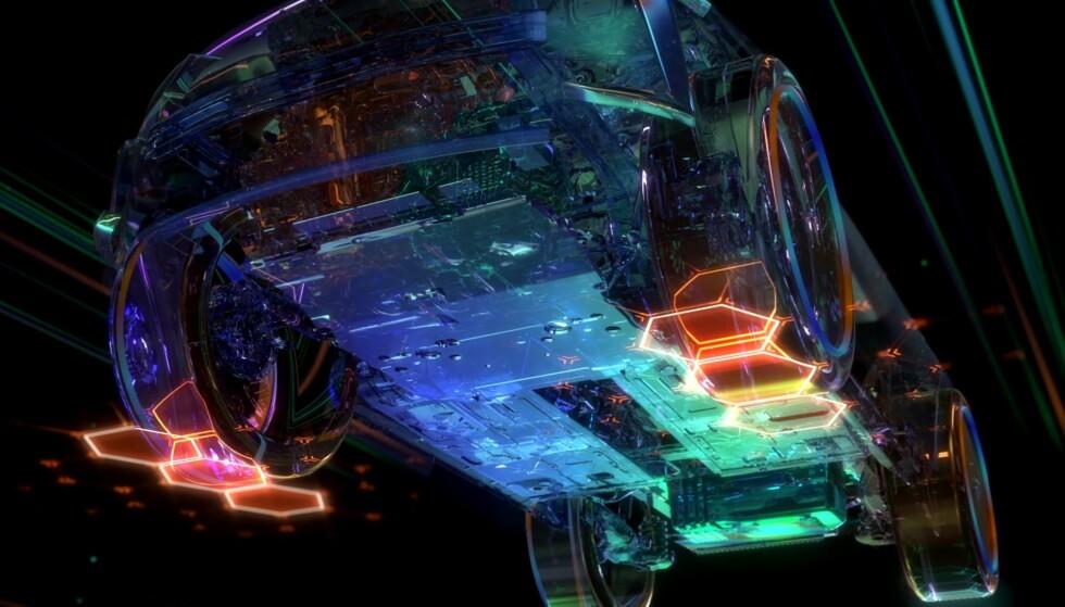 INGEN BILDER: Ingen bilder av DS 4 ble vist offentlig, men det dreier seg om en C-segment kombi, som trolig kommer i en gateversjon og en forhøyet Crossback-variant. Foto: DS Automobiles.