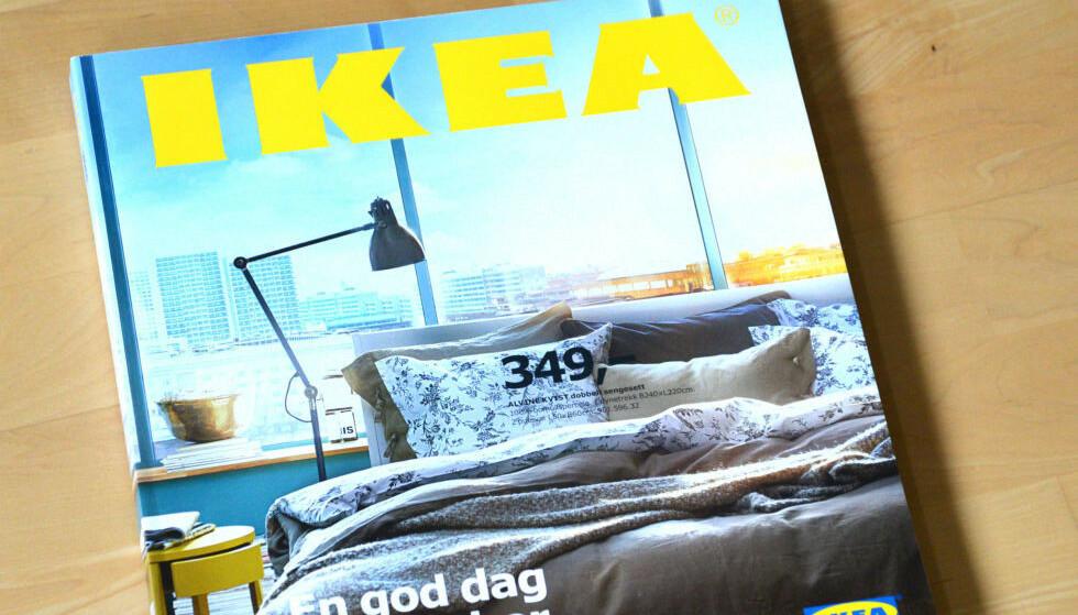 IKEA-KATALOG: Etter 70 år er det slutt for den ikoniske Ikea-katalogen. Avbildet er for øvrig 2015-utgaven. Foto: Brynjulf Blix