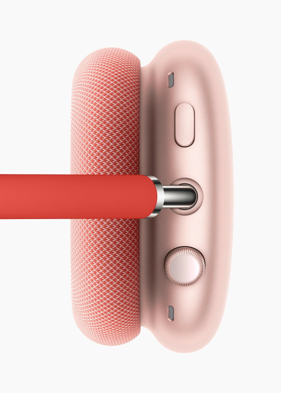 Du justerer lyden ved å vri på den digitale kronen.  Foto: Apple