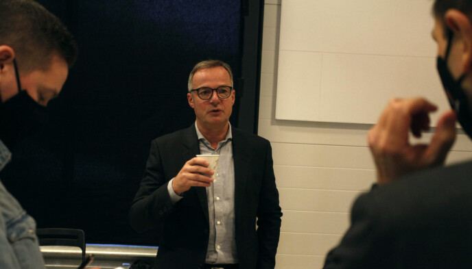 ENTUSIASTISK: Konsernsjef Magnus Brask Rustad i Motor Gruppen gleder seg til å få et nytt bilmerke i porteføljen. Foto: Øystein B. Fossum