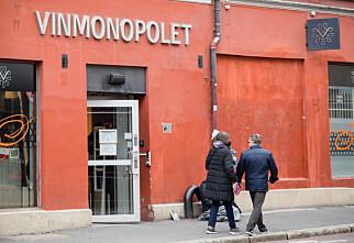 Vinmonopolets nettbutikk er nede