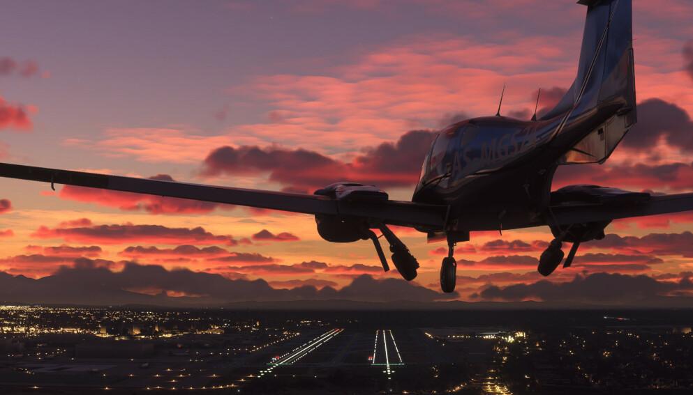FLIGHT SIMULATOR: Microsofts flysimulator ble kåret til årets simulator- og strategispill. Neste år kommer det også til Xbox. Foto: Xbox Game Studios