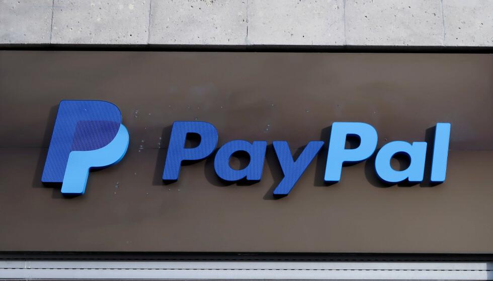 PAYPAL: Har du en inaktiv PayPal-konto med positiv saldo, kan du bli nødt til å betale årsgebyr. Foto: REUTERS/Fabrizio Bensch/NTB