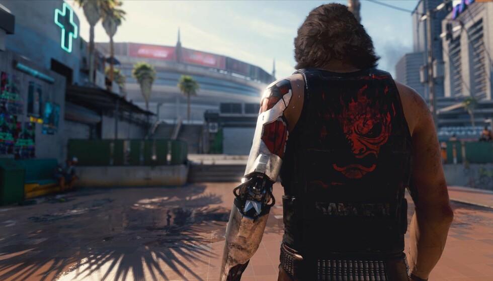 CYBERPUNK 2077: Storspillet har stort sett blitt hyllet av anmelderne, men ikke alle spillerne er like fornøyde. Foto: CD Projekt Red