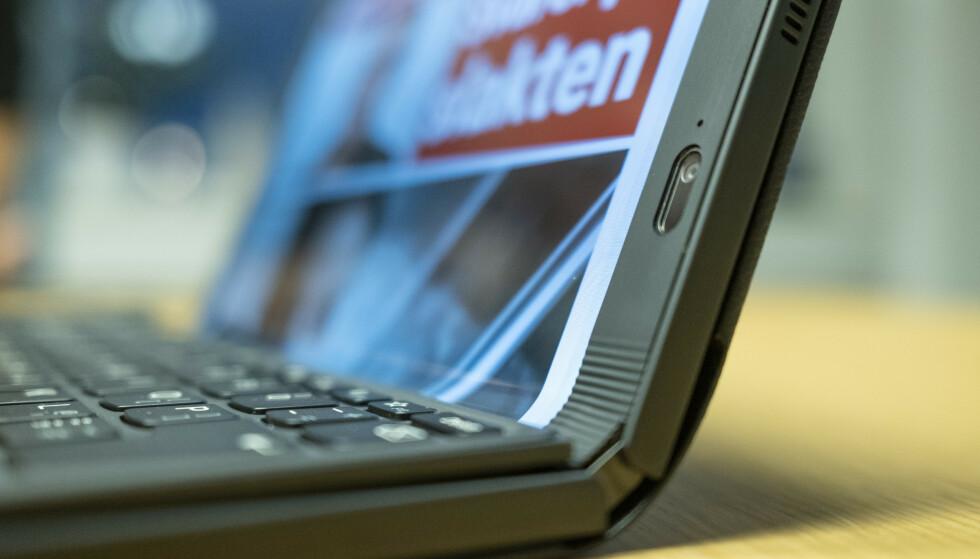 THINKPAD X1 FOLD: Lenovo er først ut med et PC-format vi har ordentlig tro på. Foto: Martin Kynningsrud Størbu